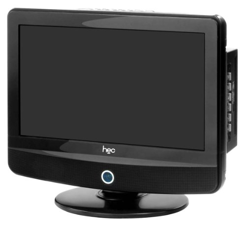 Haier Hltc15Dc 15.6-Inch 720P Portable Lcd Tv/Dvd Combo, Black