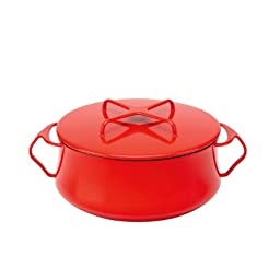 Dansk Kobenstyle Chili Red Casserole, 4-Quart