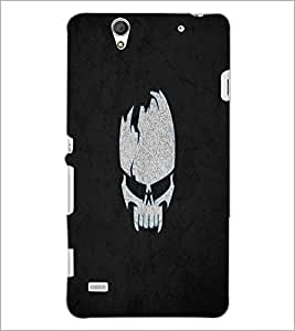 PrintDhaba Skull D-2217 Back Case Cover for SONY XPERIA C4 (Multi-Coloured)