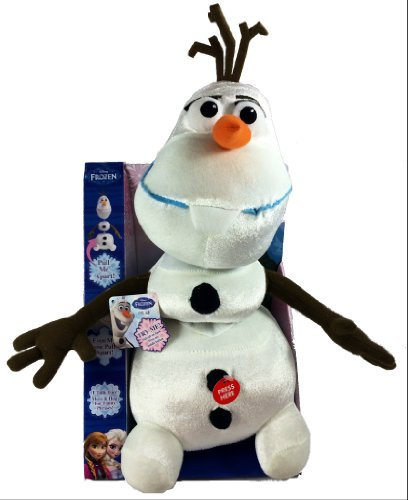Disney Frozen Pull Apart and Talkin Olaf Doll