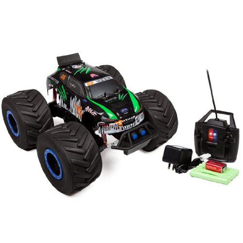 Green Monster Moxie Big Wheel Offroad 4X4 1:8 Rtr Electric Rc Monster Truck