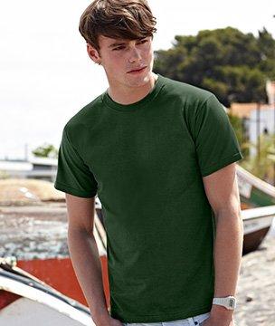 Mens Fruit of the Loom Super Premium T Shirt, T-shirt 18 Colours