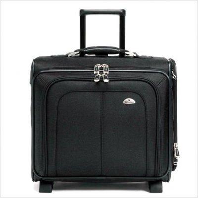 Samsonite Sideloader Mobile Office Durable Dernier Ballistic Fabric Bag in Black