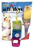 JW Pet Company Insight Ice Cubes Small Bird Toy Assorted Colors