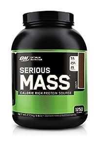 Optimum Nutrition Serious Mass, Chocolate, 6 Pound