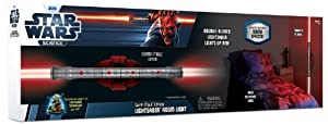 Uncle Milton Star Wars Science Darth Maul Lightsaber Room Light
