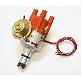 Pertronix D182504 Ignitor II Distributor with Vacuum Cast for Volkswagen