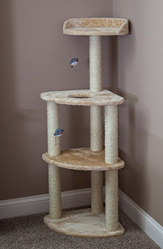 IRIS USA CL-023 Cat Tree, 3-Tier