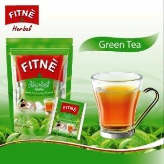 Fitne Green Tea Flavored Herbal Tea Diet/Weight Loss Slimming 15 Tea Bags
