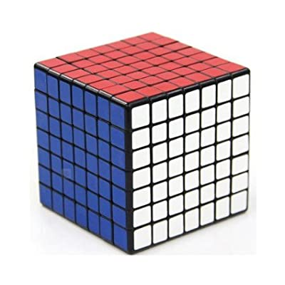 7x7x7 Cube Puzzle ,Shengshou Black Speed Cube, the BEST 7x7 from Shengshou