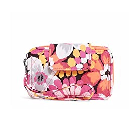 Vera Bradley Women\'s Smartphone Wristlet 2.0 Pixie Blooms Clutch