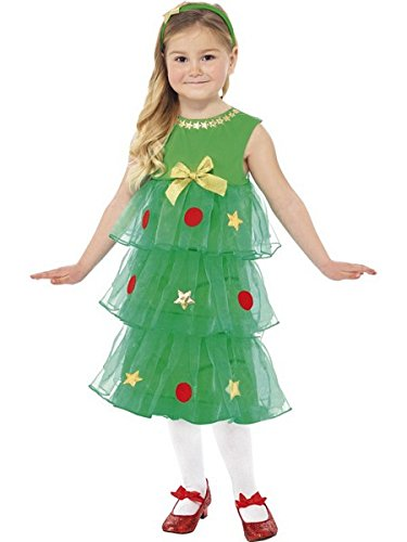 Smiffy's Little Christmas Tree Tutu Costume (Medium, Green)