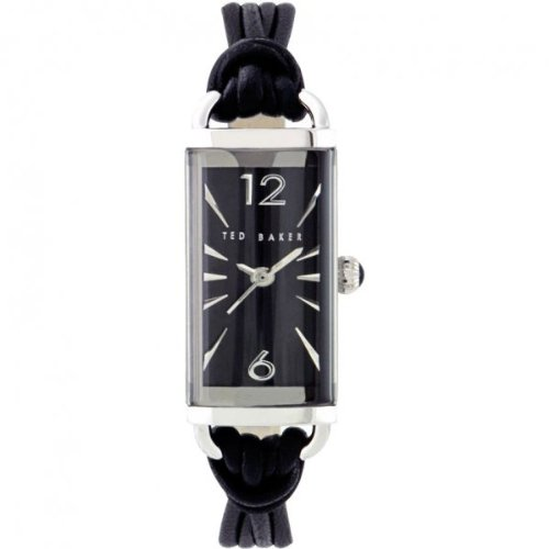 Ted Baker Ladies Watch TE2030  with Black Leather Strap