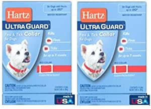 Hartz-Ultra Guard flea and tick Collar for Dogs 2 Pack