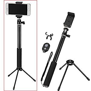 neewer camera self portrait kit for compact digital cameras ios android smartphone 39 100cm. Black Bedroom Furniture Sets. Home Design Ideas
