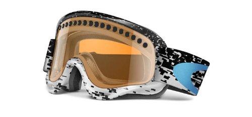 Oakley O Snow Goggles White Persimmon