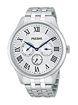 Pulsar Traditional Multifunction Stainless Steel Men's watch #PP6169