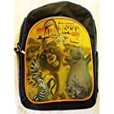 Madagascar 2 Lion Zebra Hipo Giraffe White Monkeys Backpack