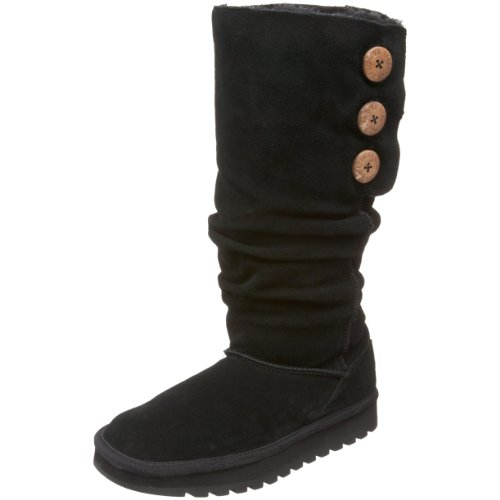 Skechers Women's Keepsake - Brrr Black Pull On Boots 47220 8 UK