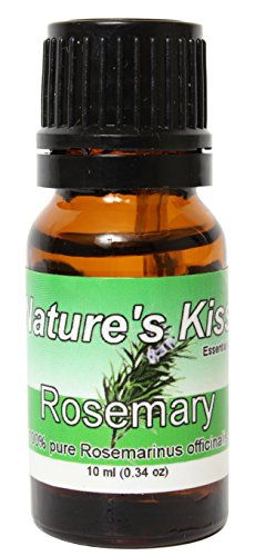 Nature's Kiss 10ml Essential Oil, 0.34-Ounce, Rosemary