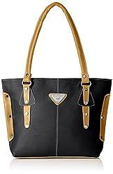 Fantosy Women's Handbag ( Black,Fnb-235)
