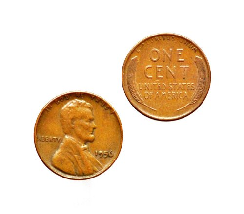 Lincoln Wheat Penny Cufflinks, Anniversary Gift, Gifts For Teachers, Gift Box Included
