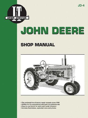John Deere Shop Manual: Series A, B, G, H, Models D, M (John Deere Model B compare prices)