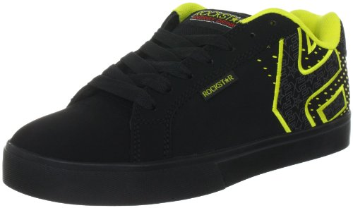 Etnies Men's ROCKSTAR FADER 1.5 Trainers - Skateboarding 4107000370 Black/Yellow 974 7.5 UK