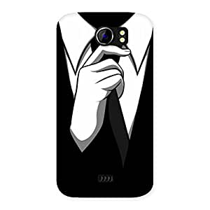 Gorgeous Tie Knot Back Case Cover for Micromax Canvas 2 A110