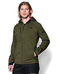 Under Armour Outerwear Men\'s Bacca Softershell Jacket, Small, Greenhead