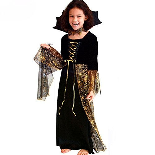 Rose Candy Trens Costumes Kids Halloween Cosplay Costumes Dresses
