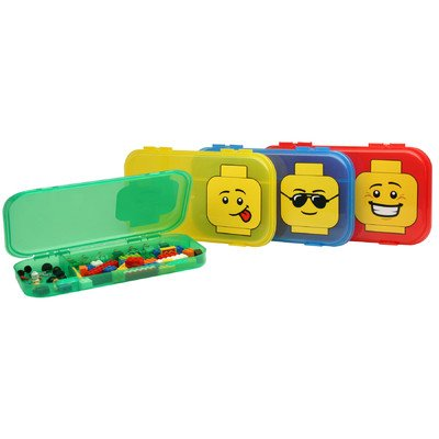 LEGO City MiniFigure Storage Case - (Colors/Styles Vary)
