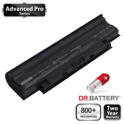 Dr. Battery Advanced Pro Series Laptop / Notebook Battery Replacement for Dell Inspiron M5030R (4400mAh / 48Wh) 800+ Safe keeping Cycles. 2 Year Warranty