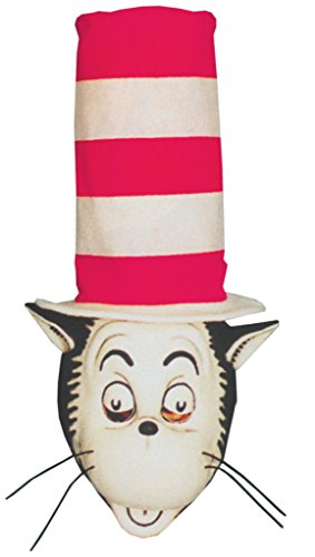 Cat In The Hat Deluxe Latex Adult Halloween Costume Mask
