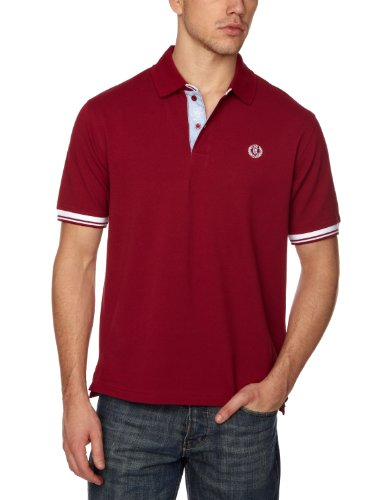 Henri Lloyd Norbit Polo Men's Shirt Beetroot Medium