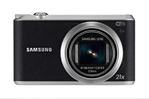 Samsung WB350F Smart Camera - Black (16.3MP, Optical Image Stabilisation) 3 inch LCD