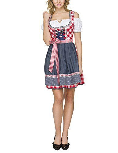 Stockerpoint Damen Dirndl Kitty, Rot (Rot), 36 thumbnail