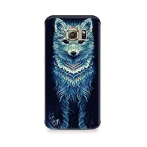 Mobicture Wolf Premium Designer Mobile Back Case Cover For Samsung S6 Edge G9250