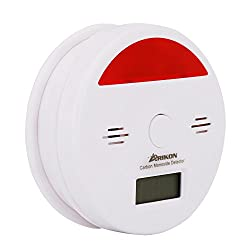 ARIKON® Carbon Monoxide leak Detector CO Poisoning Alarm Sensor Digital LCD Display and Battery-Operated (Battery Not Included) from ARIKON