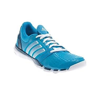 New Adidas Women's Adipure TR 360 Cross Trainers Solar Blue/White 9.5