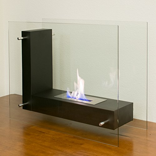 Flame USA Safety Fireplace Tempered Ethanol Ventless
