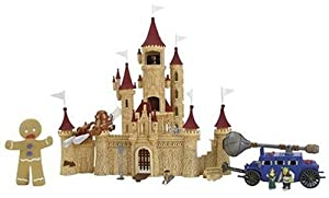 Shrek 2 Deluxe Ogre Micro Playset - Far Far Away Castle