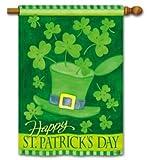 St. Patrick's Day House Flag