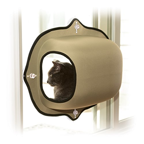 K&H Manufacturing EZ Mount Window Pod Kitty Sill Tan 27
