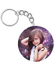 Lovely Girl | ShopTwiz WOODEN Circle Key Ring