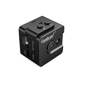 Conbrov 超小型隠しカメラ HD防犯監視カメラ ミニスパイカム セキュリティモニター