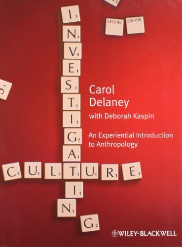 Investigating Culture: An Experiential Introduction to...