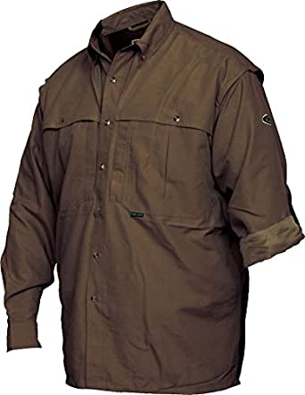 Drake youth vented long sleeve wingshooters for Drake fishing shirts