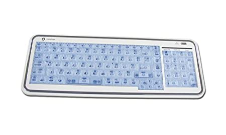 USB Irocks X Slim Illuminated El Keyboard for Mac