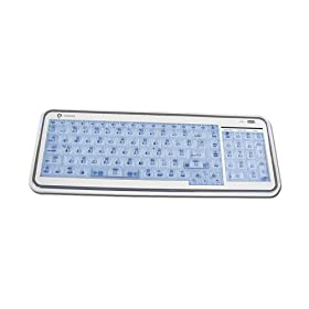 USB Irocks X Slim Illuminated El Keyboard for Mac
